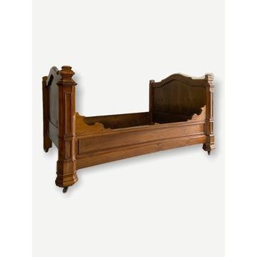 Przepiękne łóżko szezlong Karol X Francja XIX wiek
