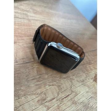 Apple Watch 1 generacji stal nierdzewna nowy pasek