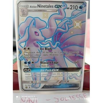 Ninetales GX Shiny SV53/SV94 M/NM Hidden Fates