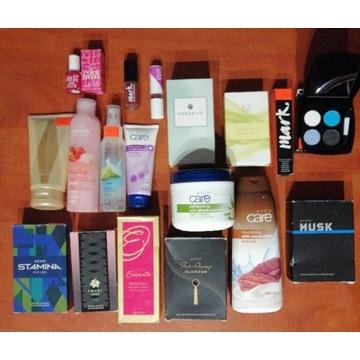 AVON zestaw kosmetyków +7 perfum
