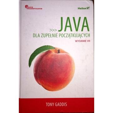Java dla zupełnie początkujących Tony Gaddis