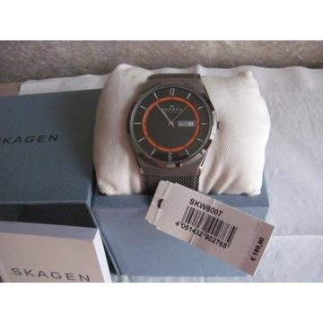 Zegarek SKAGEN SKW6007 Melbye Tytan - datownik