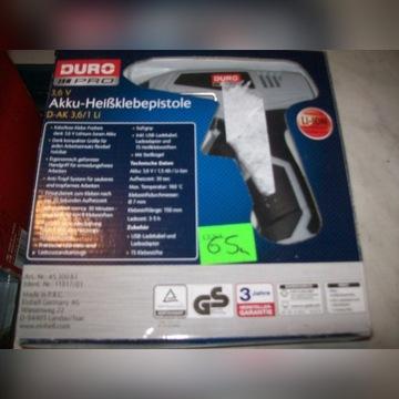 Akumulatorowy pistolet na klej D-AK 3,6 Li einhell