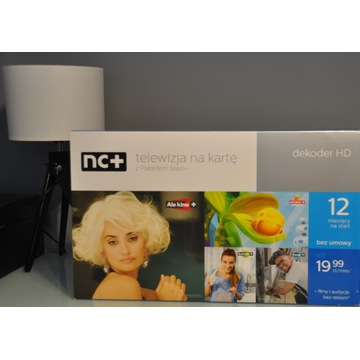 Dekoder NC+ nBOX ADB-5800S HDTV karta Start+