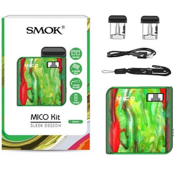 Mico vs Novo Pod Kit Vape different colors