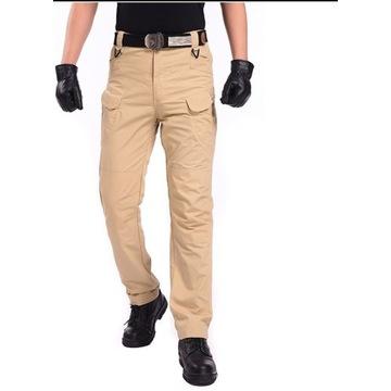 Spodnie BOJÓWKI TAKTYCZNE M/L czarny khaki męskie
