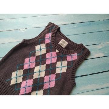 Bluzka kamizelka bezrękawnik dla chłopca 104 H&M