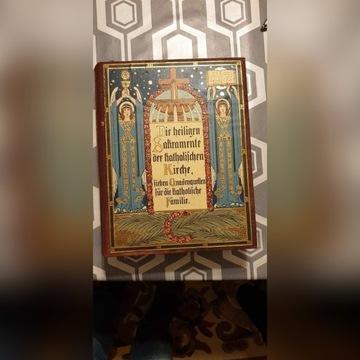 Księga koscielna 1910r.