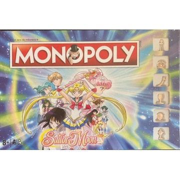 Monopoly Sailor Moon Czarodziejka z Księżyca nowa