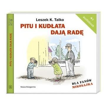 Pitu i Kudłata dają radę TALKO audiobook cd mp3