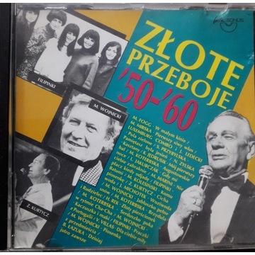 Złote Przeboje `50 -`60  - CD Składanka