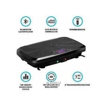 OKAZJA Platforma wibracyjna Bluetooth (uszkodzona)