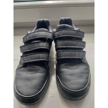 Adidas 36 2/3 obuwie sportowe na rzepy skóra