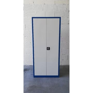 Szafa metalowa 2-drzwiowa warsztatowa .