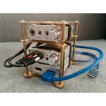iFi Audio Nano - zestaw - iCan, iDSD, iUSB, rack