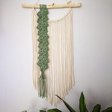 Makrama SPRING II dekoracja boho makatka łapacz