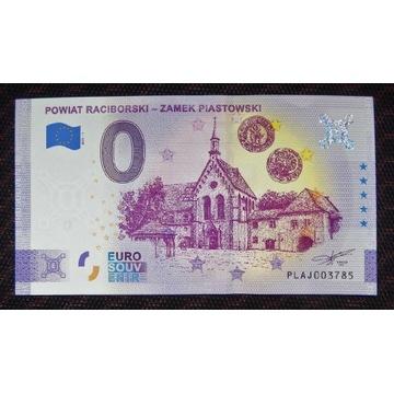 0 Euro - Powiat Raciborski, stan UNC