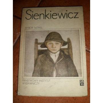 HENRYK SIENKIEWICZ WYBÓR NOWEL lektura
