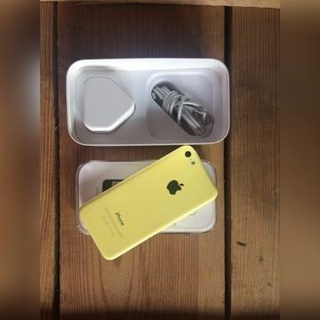 iPhone 5c żółty 8 Gb