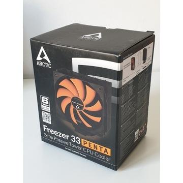 Chłodzenie procesora Arctic Freezer 33 Penta