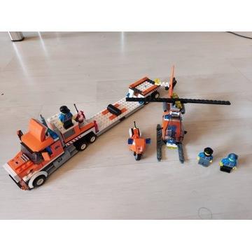 Zestaw Lego City laweta z helikopterem 4686