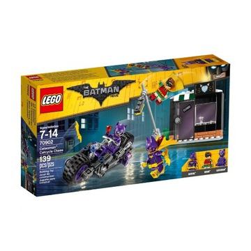 nowe LEGO 70902 BATMAN MOVIE motocykl Catwoman