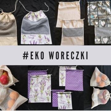 Eko Woreczki na zakupy - rozm S - eko siatki