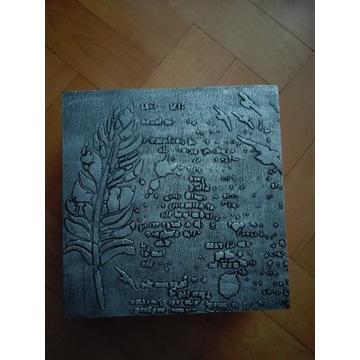 Rękodzieło elegancka szkatułka pudełko z wieczkiem