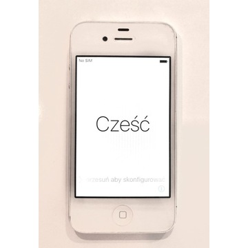 iPhone 4s 8GB biały. Stan idealny plus gratis.