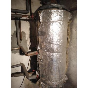 Zbiornik bojler  wężownicą  stal nierdzewna 100 l.