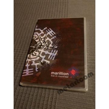 MARILLION LIVE IN MONTREAL 3 DISC LIVE DVD UNIKAT