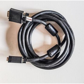 Kabel sygnałowy monitorowy D-Sub VGA-VGA 2,5m