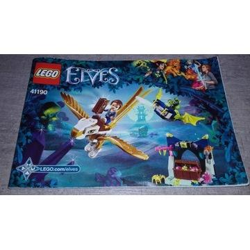 LEGO Elves Emily Jones i ucieczka orła       44190
