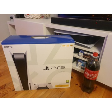 NOWA KONSOLA PLAYSTATION 5 PS5 Z NAPĘDEM BCM +COLA