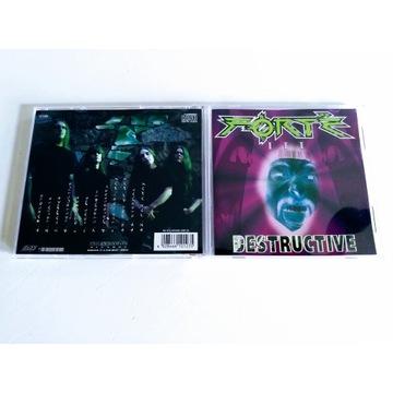 """FOTRE - """"Destructive""""  CD"""