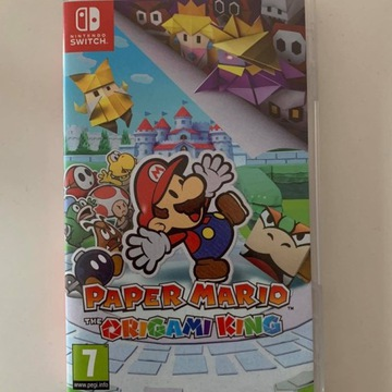 Paper Mario: The Origami King na Nintendo Switch