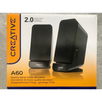 Głośniki komputerowe A60 Creative 2.0 stereo 2W