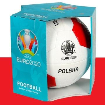 Piłka - Licencja UEFA EURO 2020 POLSKA rozmiar 5