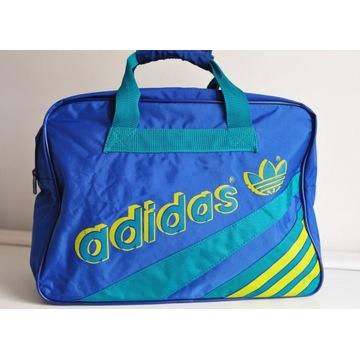 Torba sportowa Adidas lata 80-te West Germany