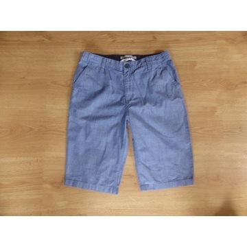 H&M spodenki niebieskie cienkie  - 164