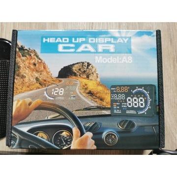WYŚWIETLACZ PROJEKTOR HEAD-UP HUD OBD2 5.5 A8