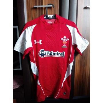 Under Armour WRU rugby Walia koszulka r. SM
