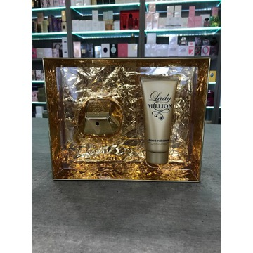 Zestaw Perfum Damskich Paco Rabanne Lady Million