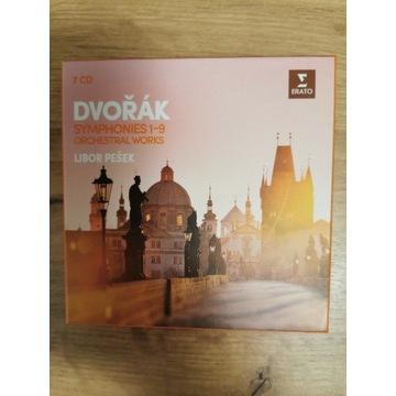 Dvorak Symphonies 1-9 Orchestral works
