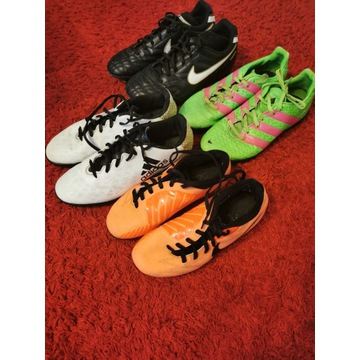 Lanki, turfy NIKE, Adidas zestaw