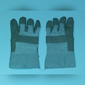 Rękawice ochronne wzmacniane - skórzane