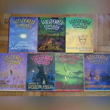 Historia świata w obrazkach - zestaw 7 tomów