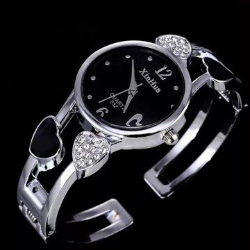 Stylowy damski zegarek-branzoketka -LICYTACJA