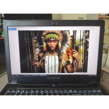 Laptop Hyberbook sl950 vr slim , gtx 1060, ssd evo