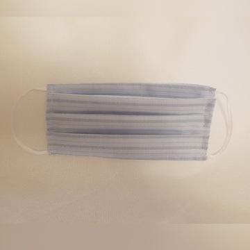 Maseczka 3warstwy bawełna włóknina polipropylenowa